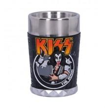 KISS Flame Range The Demon Shot Glass 7.5cm
