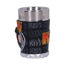 KISS Flame Range The Starchild Shot Glass 7.5cm
