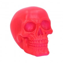 Psychedelic Skull Pink 15.5cm