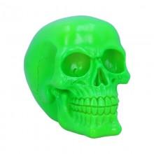 Psychedelic Skull Green 15.5cm